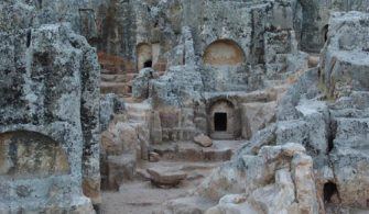 Adıyaman Gümüşkaya (Palaş) Mağaraları