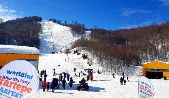 Kartepe Kayak Merkezi Kocaeli 2020 fiyatları ve gezi notları
