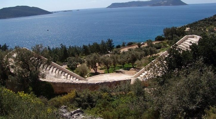 Antalya Antiphellos Antik Kent (1)