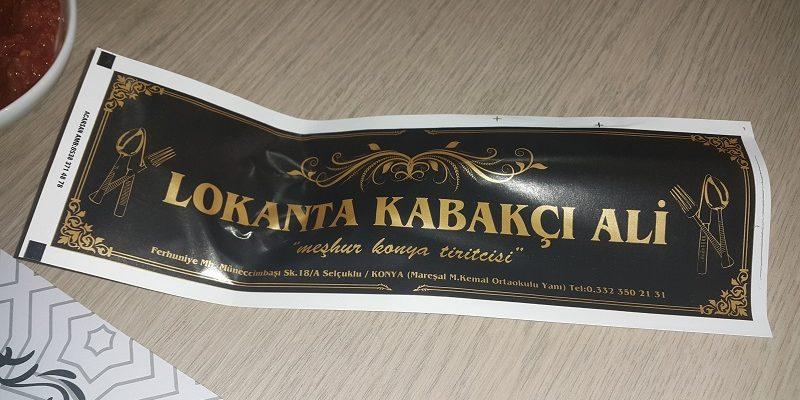Konya Kabakçı Ali Tiritçi (3)